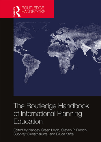 The Routledge Handbook of International Planning Education book cover