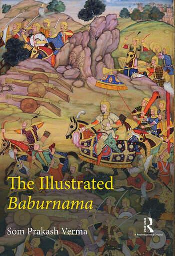 The Illustrated Baburnama book cover