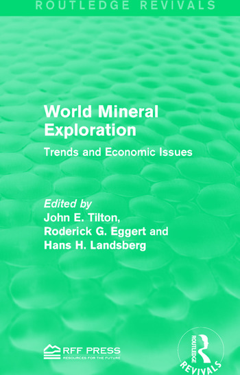 World Mineral Exploration Trends and Economic Issues book cover