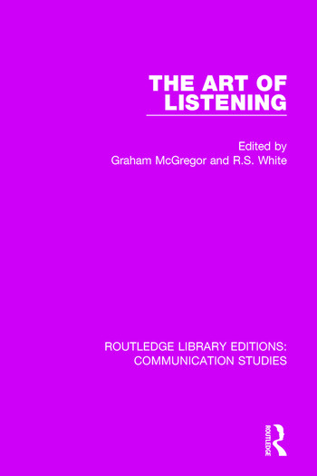 The Art of Listening book cover