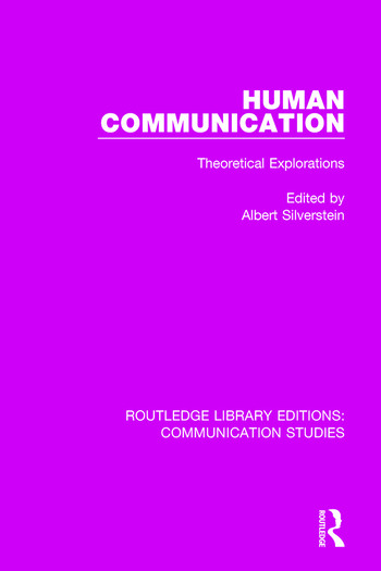 Human Communication Theoretical Explorations book cover