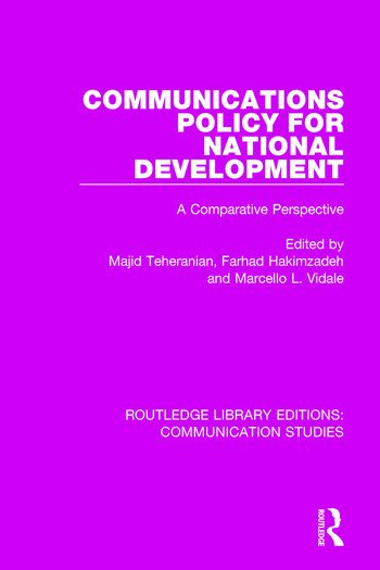 Communications Policy for National Development book cover