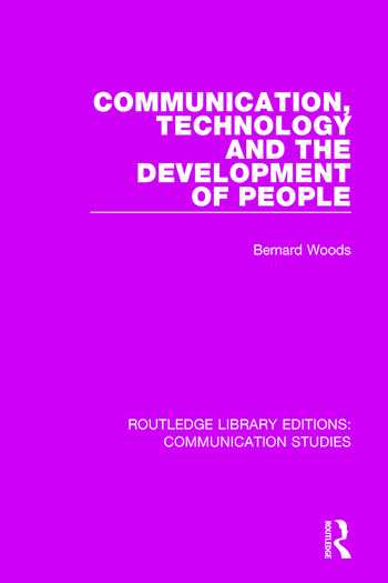 Communication, Technology, and the Development of People book cover
