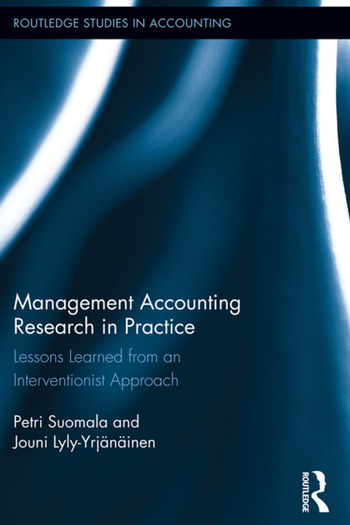 Management Accounting Research in Practice Lessons Learned from an Interventionist Approach book cover