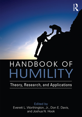 Handbook of Humility Theory, Research, and Applications book cover