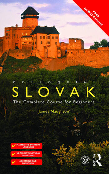 Colloquial Slovak The Complete Course for Beginners book cover