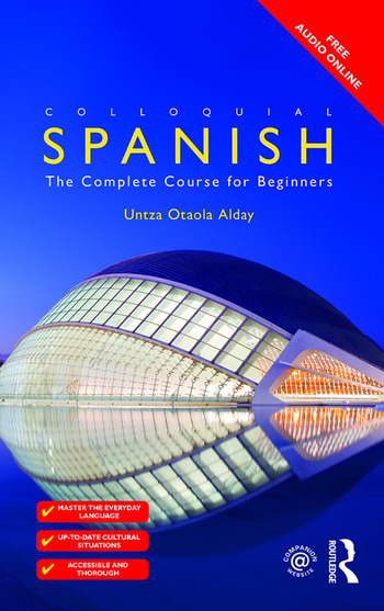 Colloquial Spanish The Complete Course for Beginners book cover