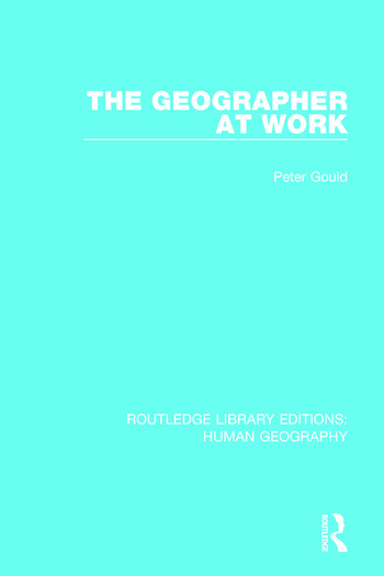 The Geographer at Work book cover