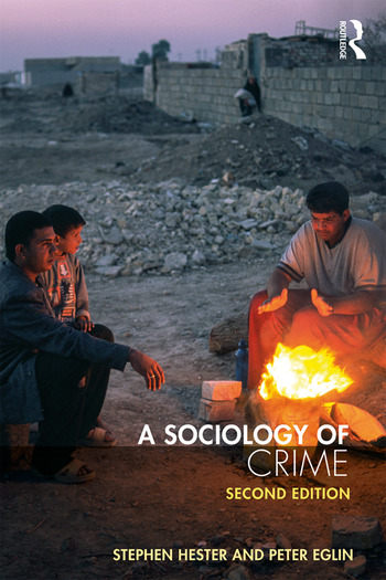 A Sociology of Crime Second edition book cover