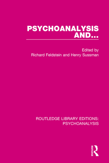 Psychoanalysis and ... book cover