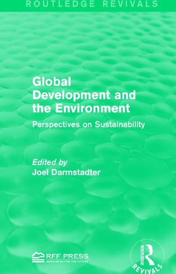 Global Development and the Environment Perspectives on Sustainability book cover