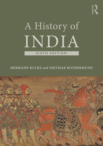 A History of India book cover