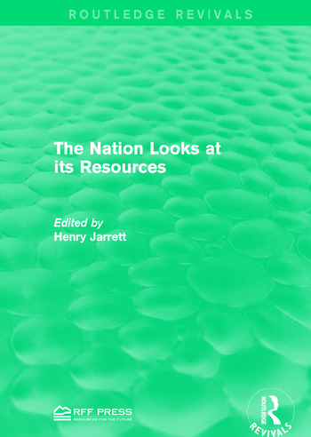 The Nation Looks at its Resources book cover