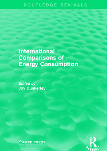 International Comparisons of Energy Consumption book cover
