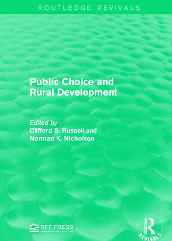 Public Choice and Rural Development book cover