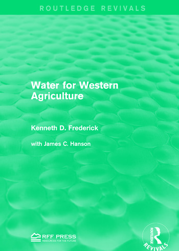 Water for Western Agriculture book cover