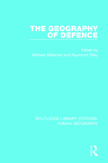 The Geography of Defence book cover