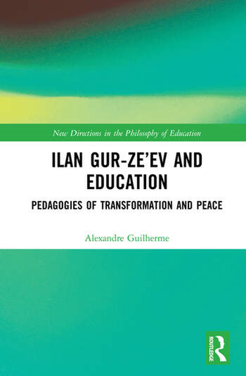 Ilan Gur-Ze'ev and Education Pedagogies of Transformation and Peace book cover