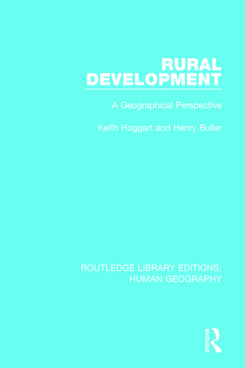 Rural Development A Geographical Perspective book cover