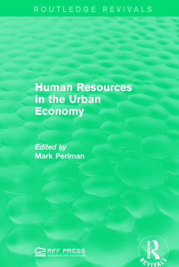 Human Resources in the Urban Economy book cover