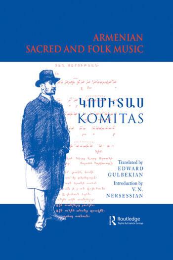 Armenian Sacred and Folk Music book cover