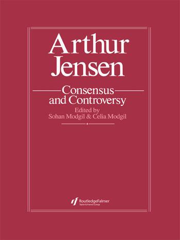 Arthur Jensen: Consensus And Controversy book cover