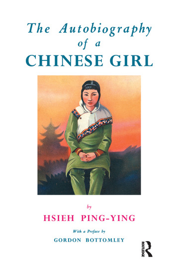 Autobiography Of A Chinese Girl book cover