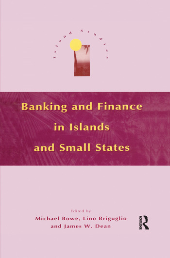 Banking and Finance in Islands and Small States book cover