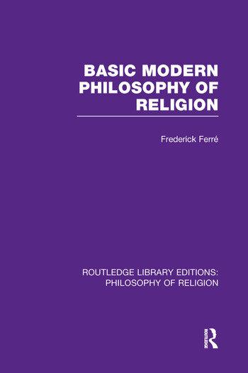 Basic Modern Philosophy of Religion book cover