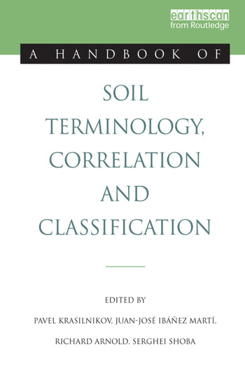 A Handbook of Soil Terminology, Correlation and Classification book cover
