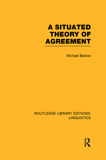 A Situated Theory of Agreement book cover