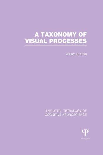 A Taxonomy of Visual Processes book cover