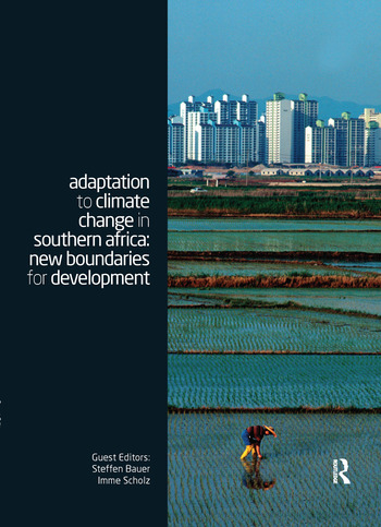 Adaptation to Climate Change in Southern Africa New Boundaries for Development book cover
