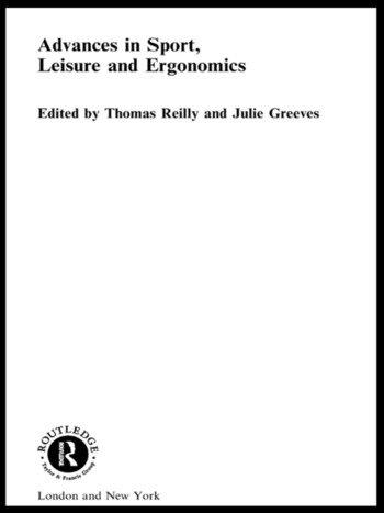 Advances in Sport, Leisure and Ergonomics book cover
