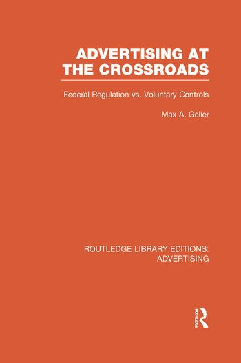 Advertising at the Crossroads book cover