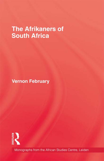 Afrikaners Of South Africa book cover