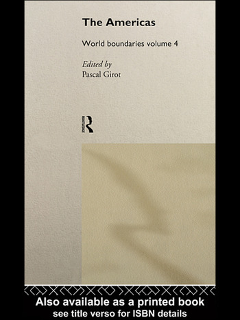 The Americas World Boundaries Volume 4 book cover