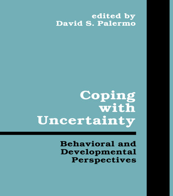 Coping With Uncertainty Behavioral and Developmental Perspectives book cover