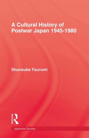 Cultural History Of Postwar Japa book cover