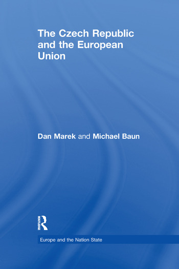 The Czech Republic and the European Union book cover