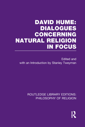 David Hume: Dialogues Concerning Natural Religion In Focus book cover