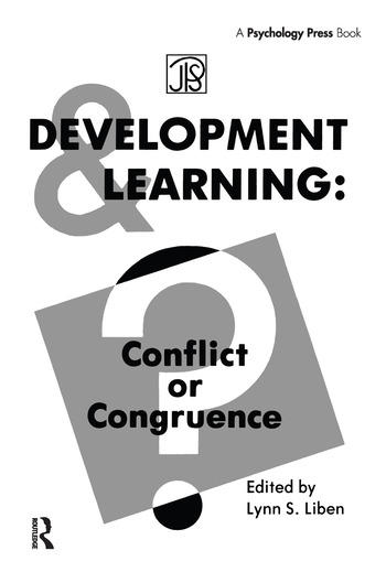 Development Learning Conflict Or Congruence? book cover