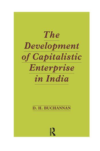 Development of Capitalistic Enterprise in India book cover