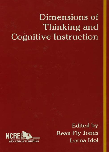 Dimensions of Thinking and Cognitive Instruction book cover