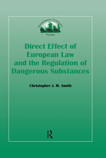 Direct Effect Of European Law book cover