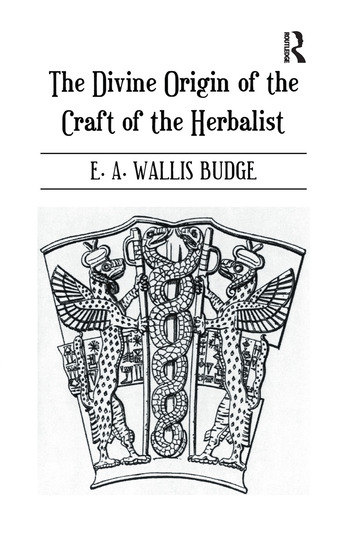 Divine Origin Of Craft Of Herbal book cover