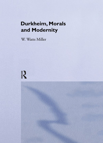 Morals and Modernity