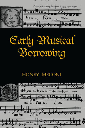 Early Musical Borrowing book cover