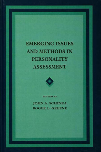 Emerging Issues and Methods in Personality Assessment book cover