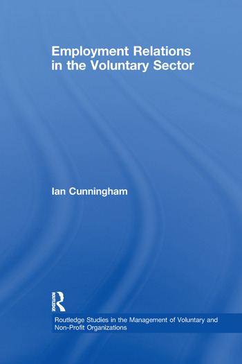 Employment Relations in the Voluntary Sector Struggling to Care book cover